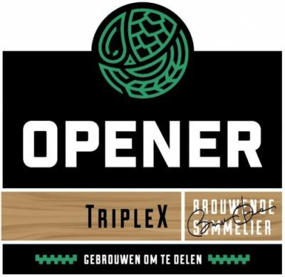 Opener Bierbrouwerij TripleX