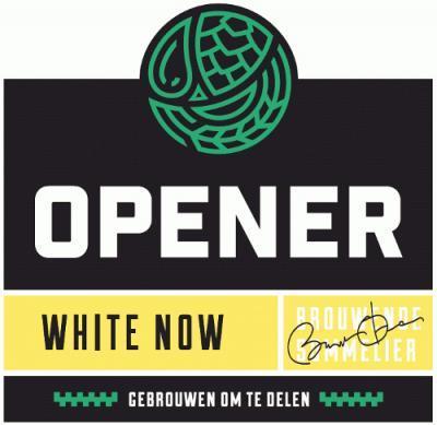 Opener Bierbrouwerij White Now