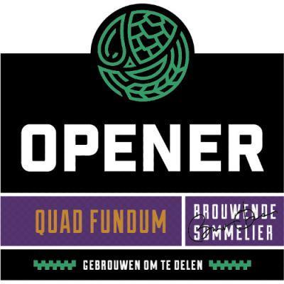 Opener Bierbrouwerij Quad Fundum