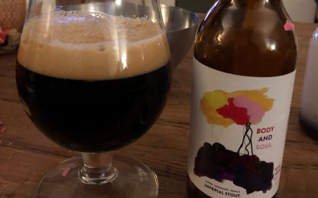 Body and Soul Imperial Stout ingeschonken