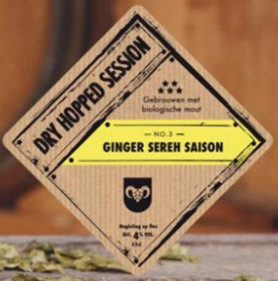 Dry Hopped Session Gember Sereh Saison