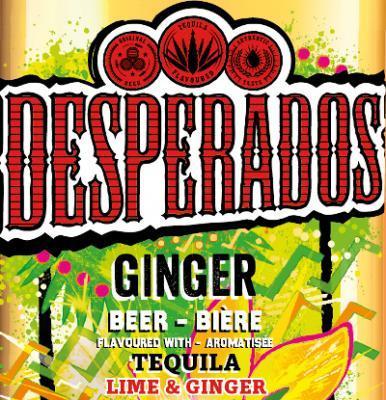 Desperados Ginger logo