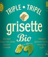 St. Feullien Grisette Tripel bio etiket