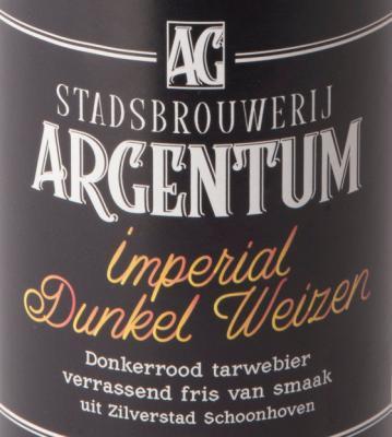 Stadsbrouwerij Argentum Imperial Dunkek Weizen logo