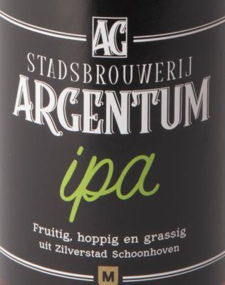 Stadsbrouwerij Argentum IPA logo