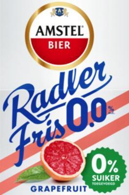 Amstel Radler 0,0% Grapefruit Fris