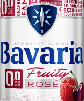 Bavaria 0.0% Fruity Rosé alcoholvrij