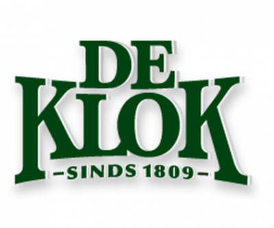 De Klok bier logo