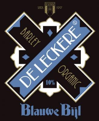 De Leckere Blauwe Bijl Logo