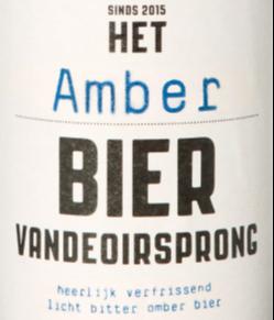 Het Amber bier Vandeoirsprong logo