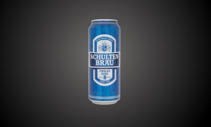 Schultenbrau Zwaar bier blik