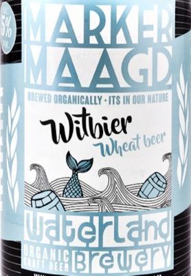 logo van het bier Bierderij Waterland Marker Maagd