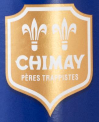 Blauwe Chimay logo
