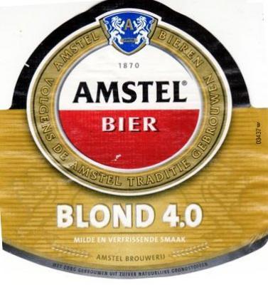 Amstel Blond logo