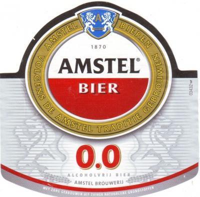 Amstel 0.0 logo