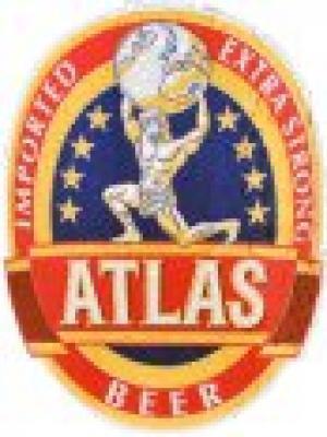 Atlas strong beer logo