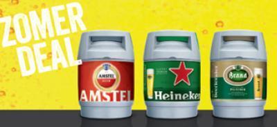 Beertender zomerdeal