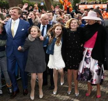 Inhakers op Koningsdag 2016