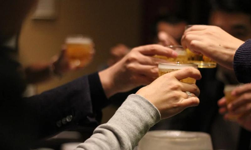 Socialer door bier