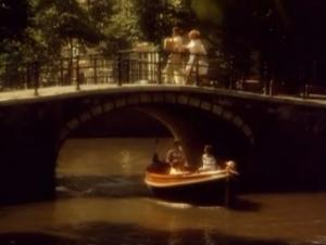 Amstel reclame Leven aan de Amsterdamse grachten