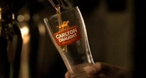 carlton draught slow motion