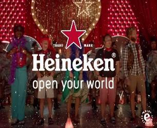 Topreclame van Heineken in Parijs