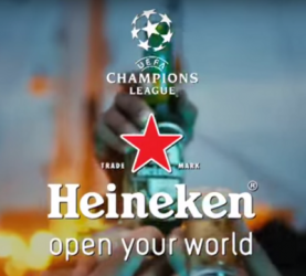 Heineken Champions League commercial 2015
