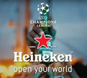 Heineken Champions League commercial 2015