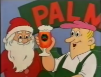 Palm reclame 1990 Eindejaarsgeschenk