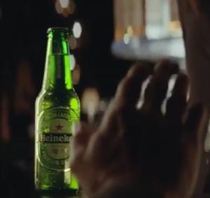 Een Heineken afslaan
