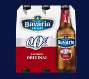 Nieuwe omverpakking Bavaria 0.0%