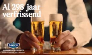 Bavaria reclame 298 jaar verfrissend