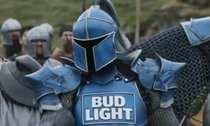 De Bud Light ridder