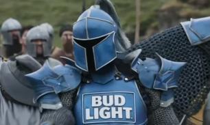 De Bud Light ridder