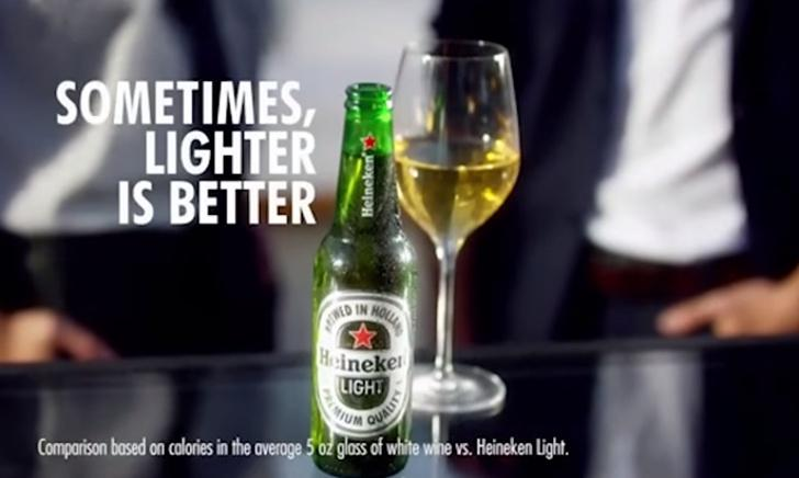 Heineken Light commercial