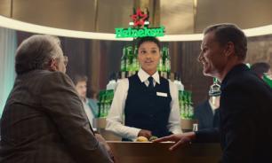 David Coulthard That's Heineken