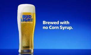 Bud Light gebrouwen zonder glucosestroop