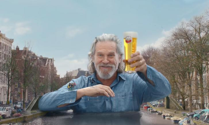Jeff Bridges Amstel commercial