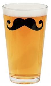 moustache bierglazen