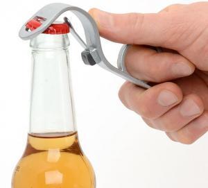 eenhandige flessenopener
