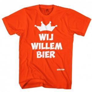 Wij Willem bier t-shirt