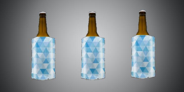 Bierkoeler om flesje