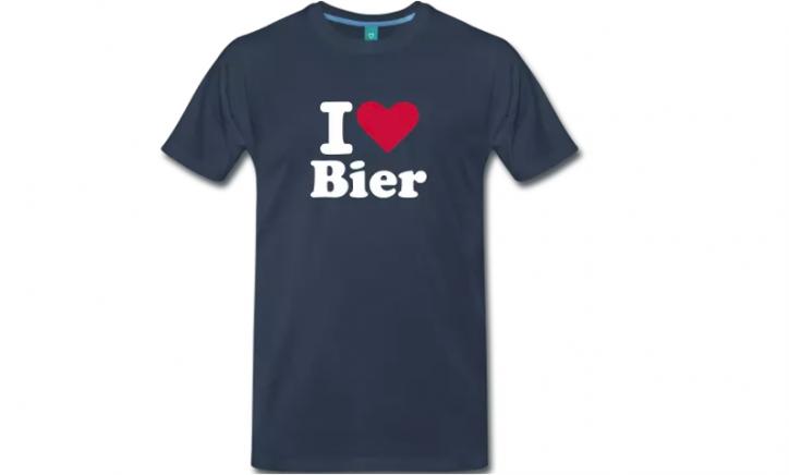 I Love Bier T-shirt