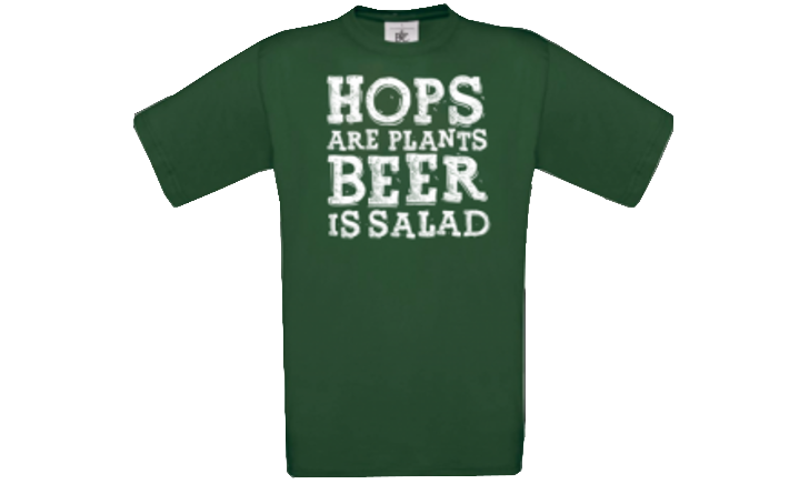 Beer is salad T-shirt