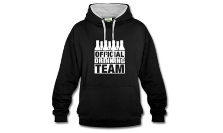 Official Drinking Team Sweater