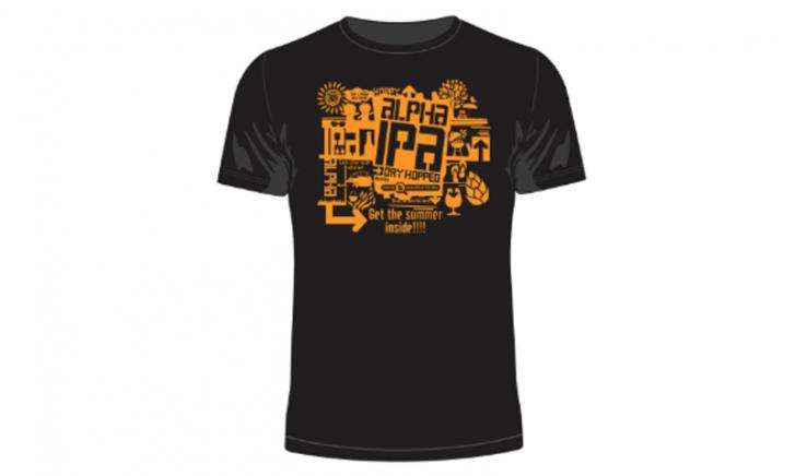 BierNavigatie - Alpha IPA shirt