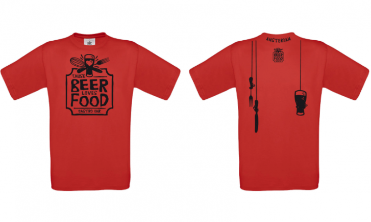 Cause Beer Loves Food shirt