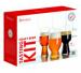 Spiegelau bier tasting kit - IPA-bierglas - Stout-bierglas - witbierglas