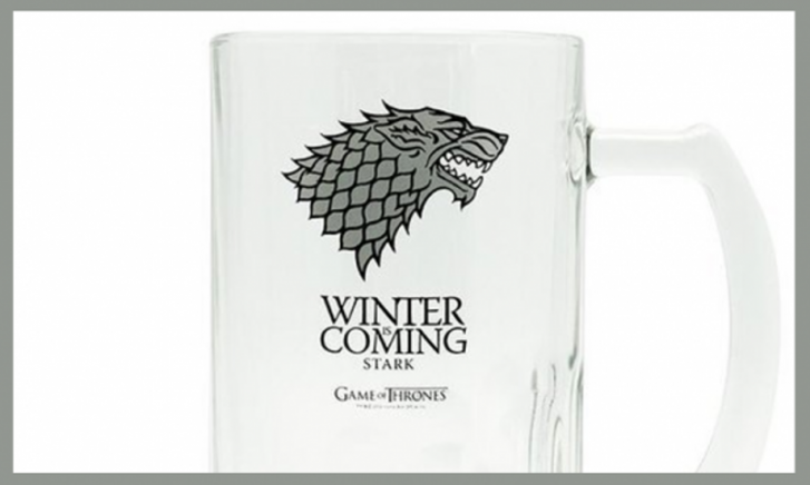 Game of Thrones Bierglas Stark