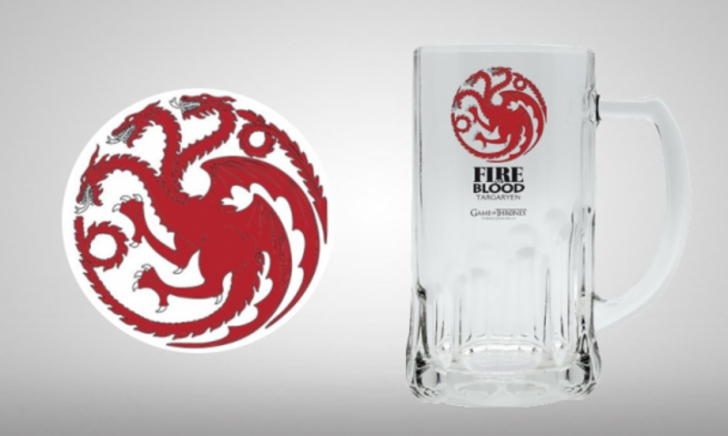 Game of Thrones Targaryen Bierpul